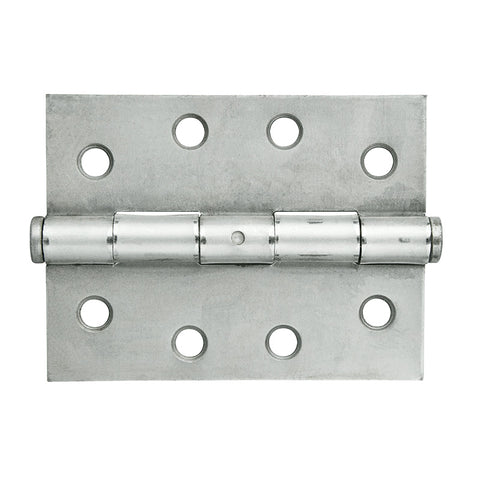 Butt Hinge BS 100x75mm Fixed Pin 2pk