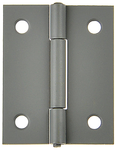 Butt Hinge Primed 35x25mm Fixed Pin 2pk