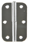 Radius Lift Off Hinge Chrome 89x57mm