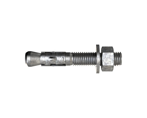 Thru Bolt Anchors Galv M12 x 120mm