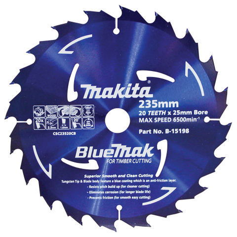 BlueMak Saw Blade 235mm x 25mm