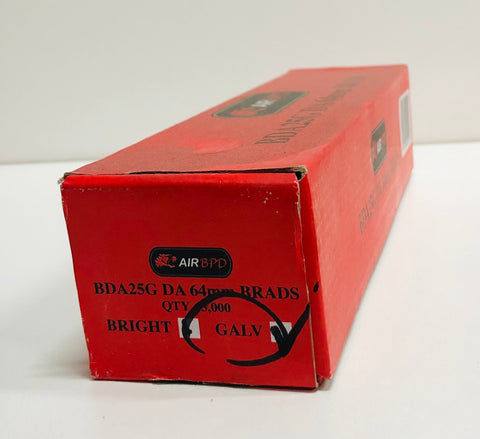 DA Series Galv Brads 64mm
