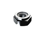 Nylon Lock Nut Zinc 1/4