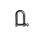 D Shackle 6mm x 21mm SS