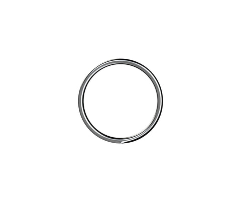 Round Rings 4mm x 30mm Zinc
