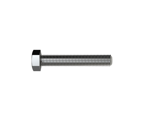 Hex Screw Zinc M8 x 50mm
