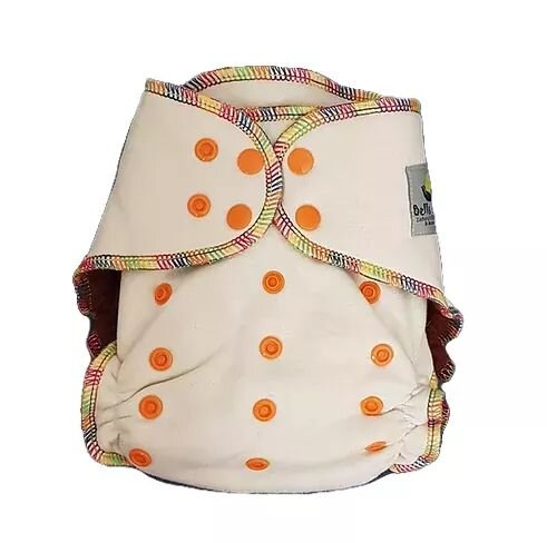 Bells Bumz Hemp Fitted Nappy - Birth to Potty