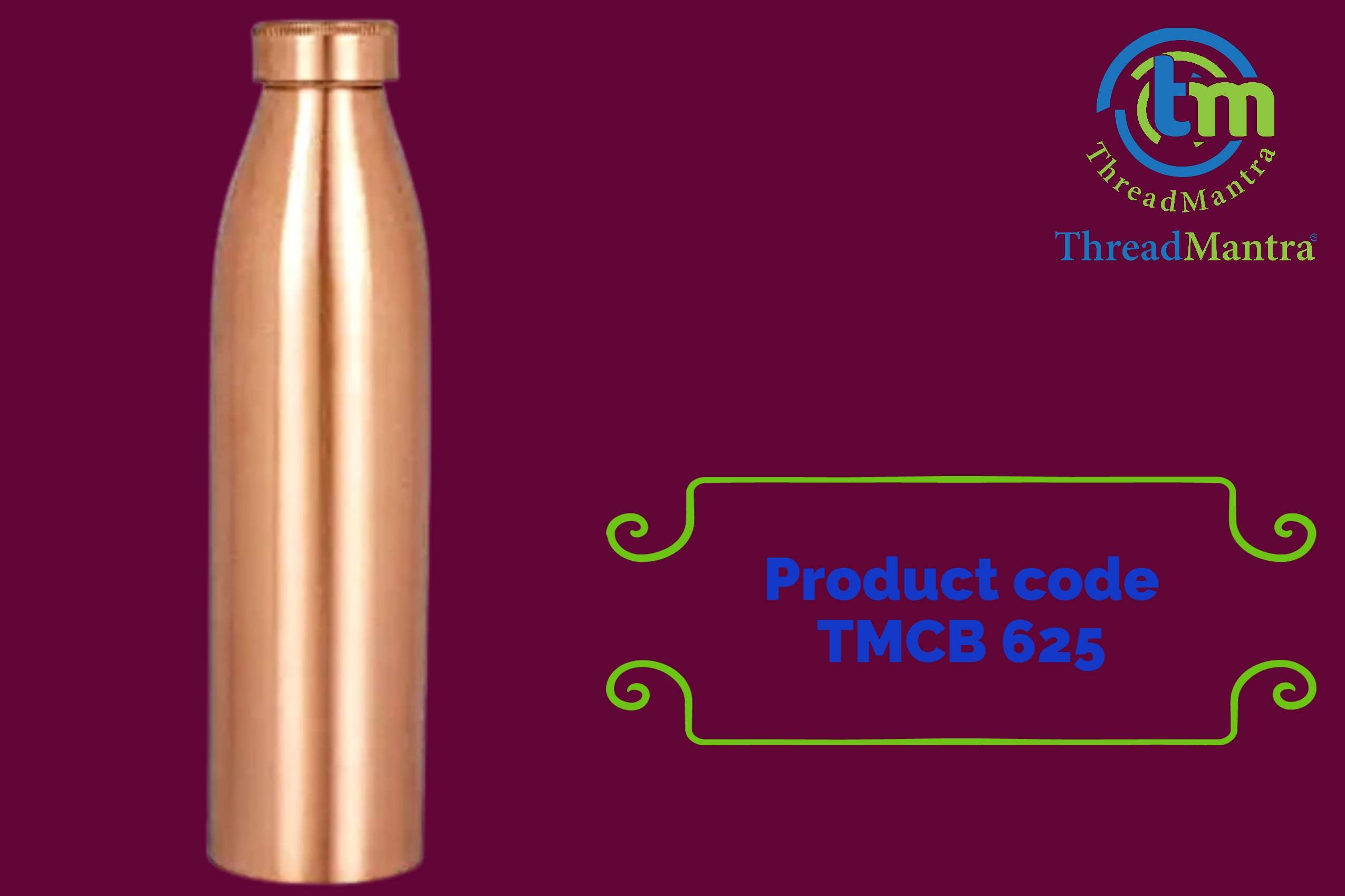 TM- Copper Water Bottle