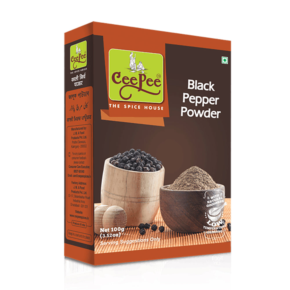 CEEPEE- Black Pepper Powder (Pack of 8)