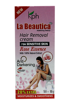 La Beautica- Hair Removal Cream (Rose)
