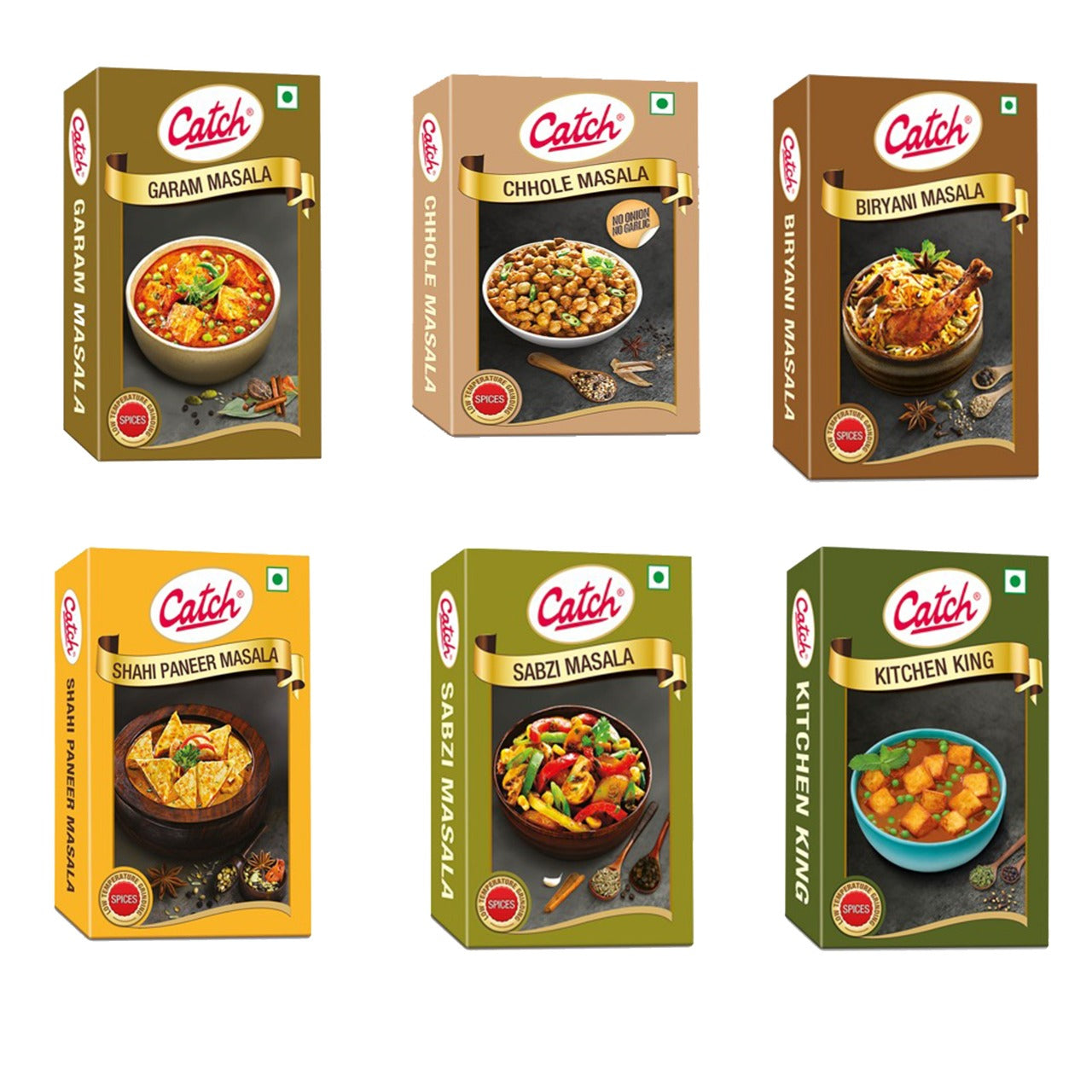 CATCH- Spices Gift Pack 6 in 1