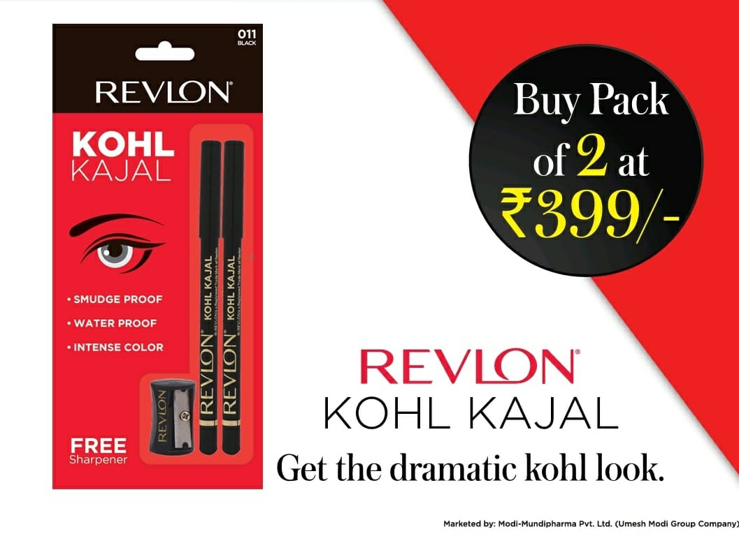 Revlon- Kohl Kajal (BUY PACK OF 2)