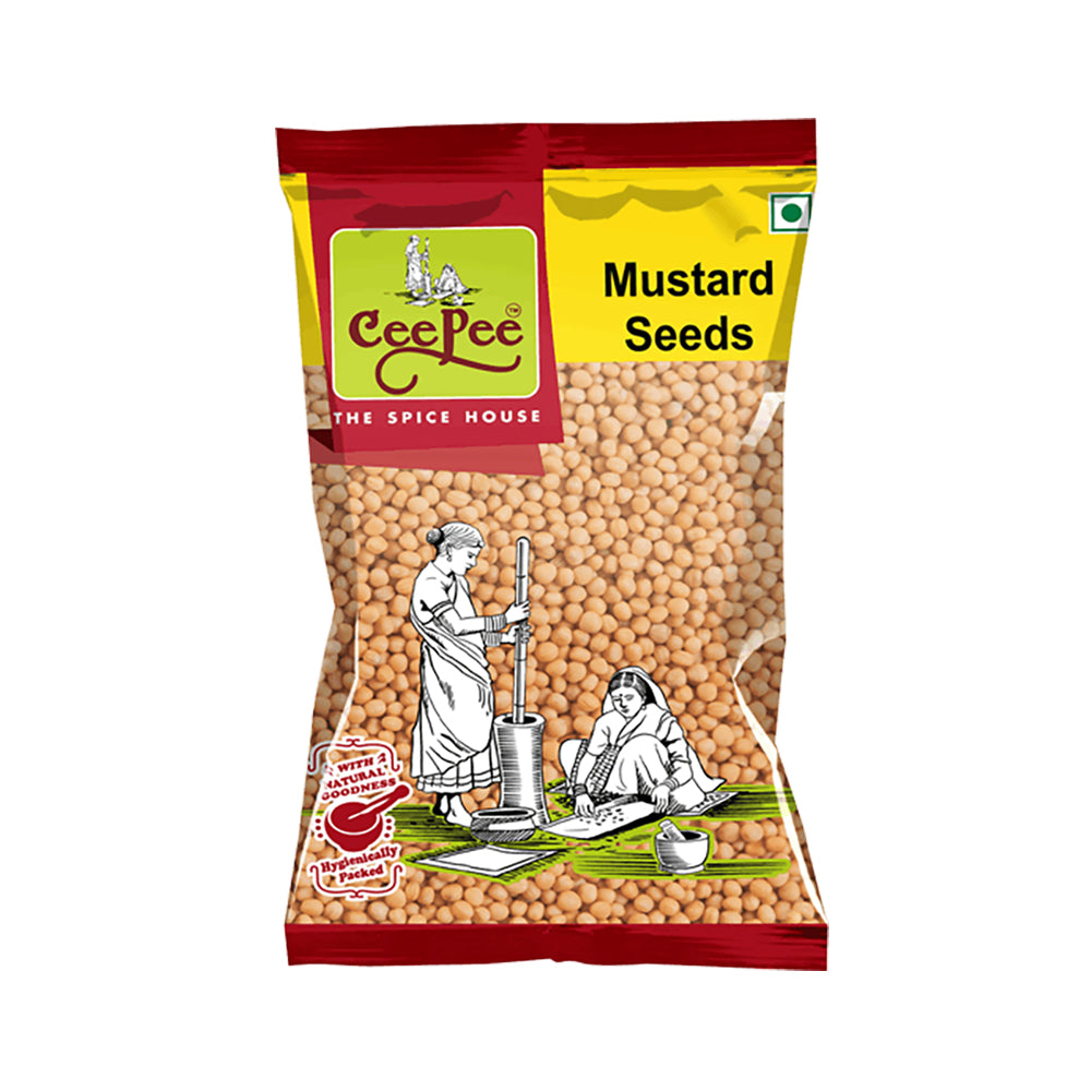CEEPEE- Yellow Mustard Seeds (Pack of 12)