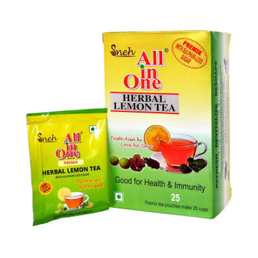 SNEH- Herbal Lemon Tea (Pack of 4)