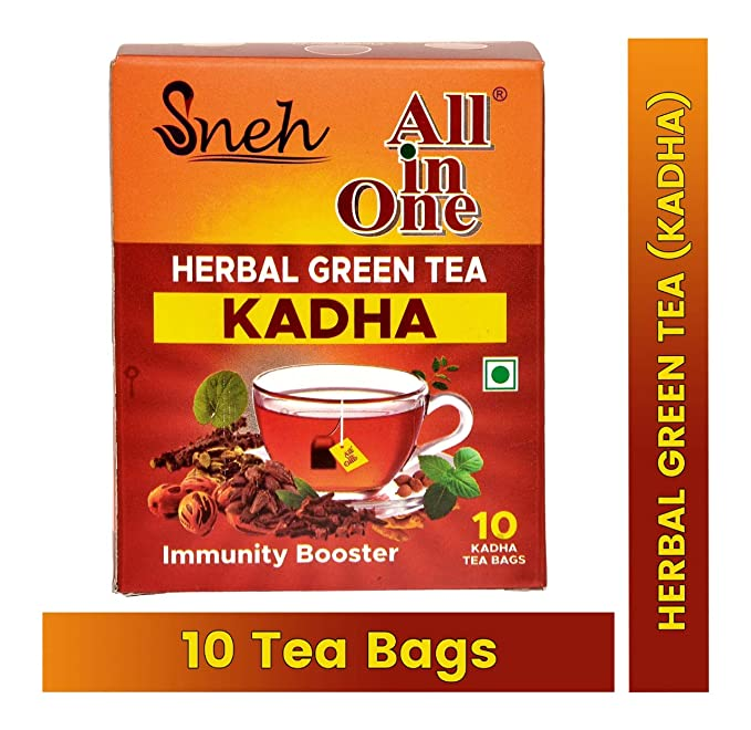 SNEH- Herbal Green tea Kadha (Immunity Booster )- Pack of 12