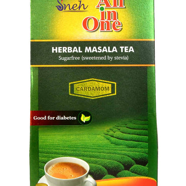 SNEH- Herbal Masala Tea (Sugarless- sweetened with stevia)- Pack of 4