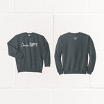 Load image into Gallery viewer, Choose Happy Sweatshirt - Grey