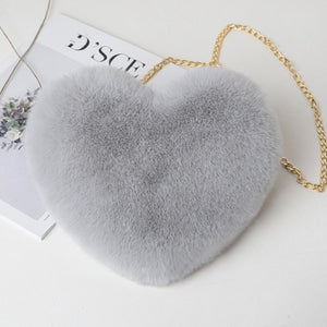 Fluffy Sweetheart Sling Bag