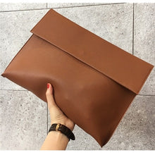 Load image into Gallery viewer, Briefcase Envelope Evening Clutch