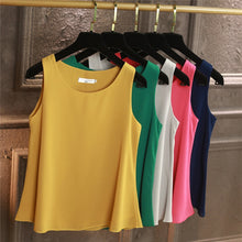 Load image into Gallery viewer, 100% Original YUANYU New Arrival Sleeveless Casual blouse