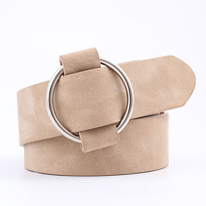 Metal Ring Buckle Belts