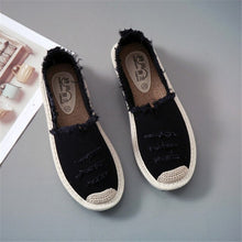 Load image into Gallery viewer, Espadrilles Lazy Loafers Shoes