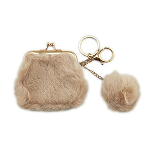 Winter Mini Coin Pouch