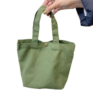 Mini Canvas Tote Bag