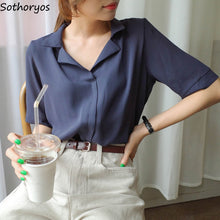 Load image into Gallery viewer, Ulzzang Trendy Chiffon Top