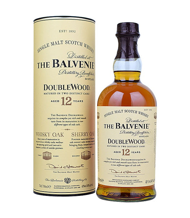 The Balvenie Double Wood 12 Year Old Single Malt (40%)