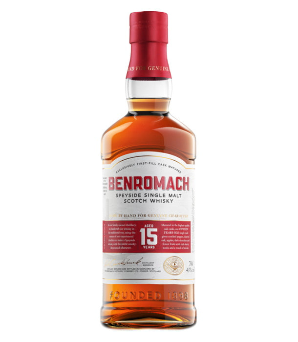 Benromach 15 Year Old Single Malt (43%)