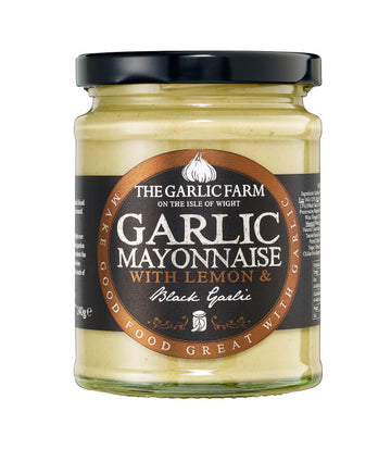 Black Garlic Mayonnaise with Lemon (240g)