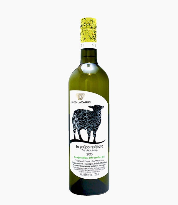 Nico Lazaridi 'The Black Sheep' Sauvignon Blanc-Semillon