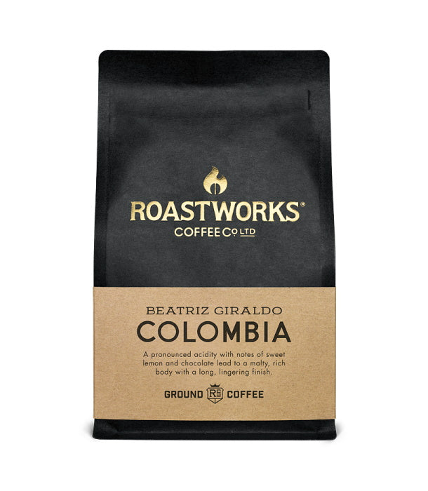 Roastworks Colombia Ground Coffee (200g)