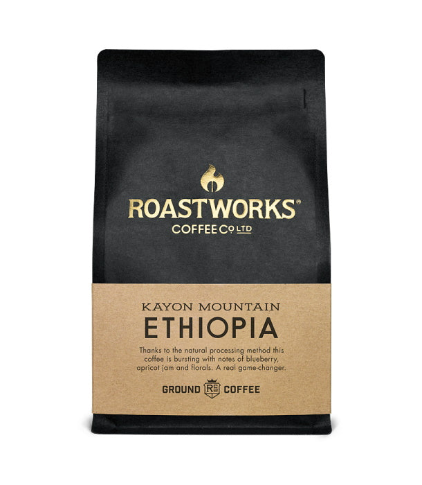 Roastworks Ethiopia Ground Coffee (200g)