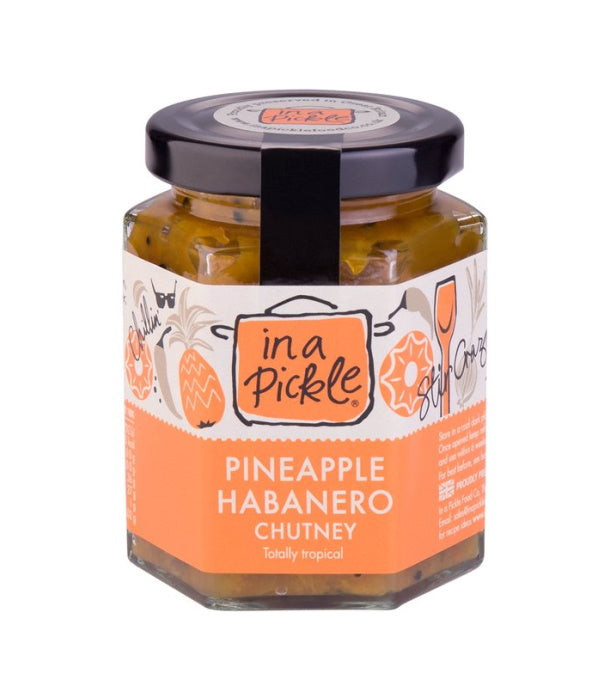 In a Pickle Pineapple Habanero Chutney (190g)