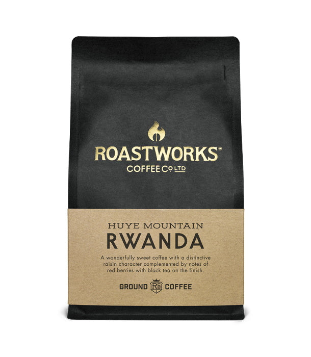 Roastworks Rwanda Ground Coffee (200g)