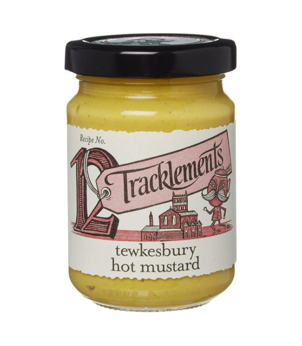 Tracklement's Tewkesbury Hot Mustard (140g)