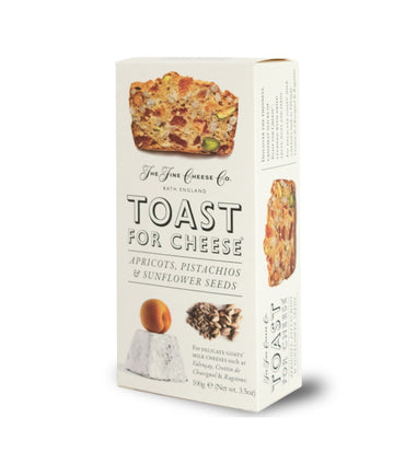 Toast for Cheese with Apricot, Pistachios, and Sunflower Seeds (100g)