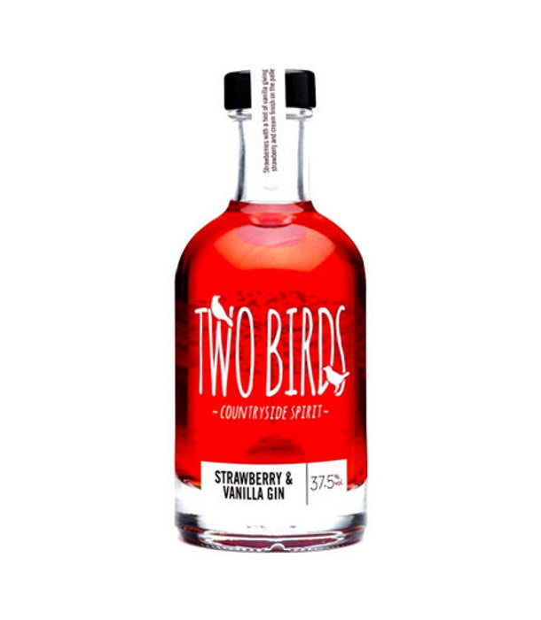 Two Birds Strawberry and Vanilla Gin (20cl)