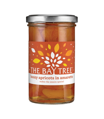 The Bay Tree Boozy Apricots in Amaretto (290g)