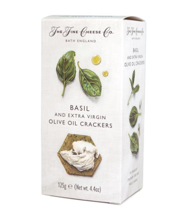 Fine Cheese Company Basil Crackers (125g)