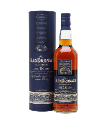 Glendronach Allardice Sherry Cask 18 Year Old Single Malt (46.0%)