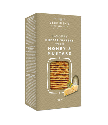 Honey and Mustard wafers (75g)