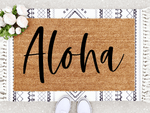 Load image into Gallery viewer, Aloha Doormat