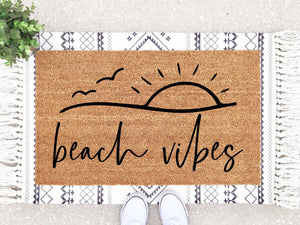 Beach Vibes Doormat