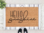 Load image into Gallery viewer, Hello Sunshine Doormat