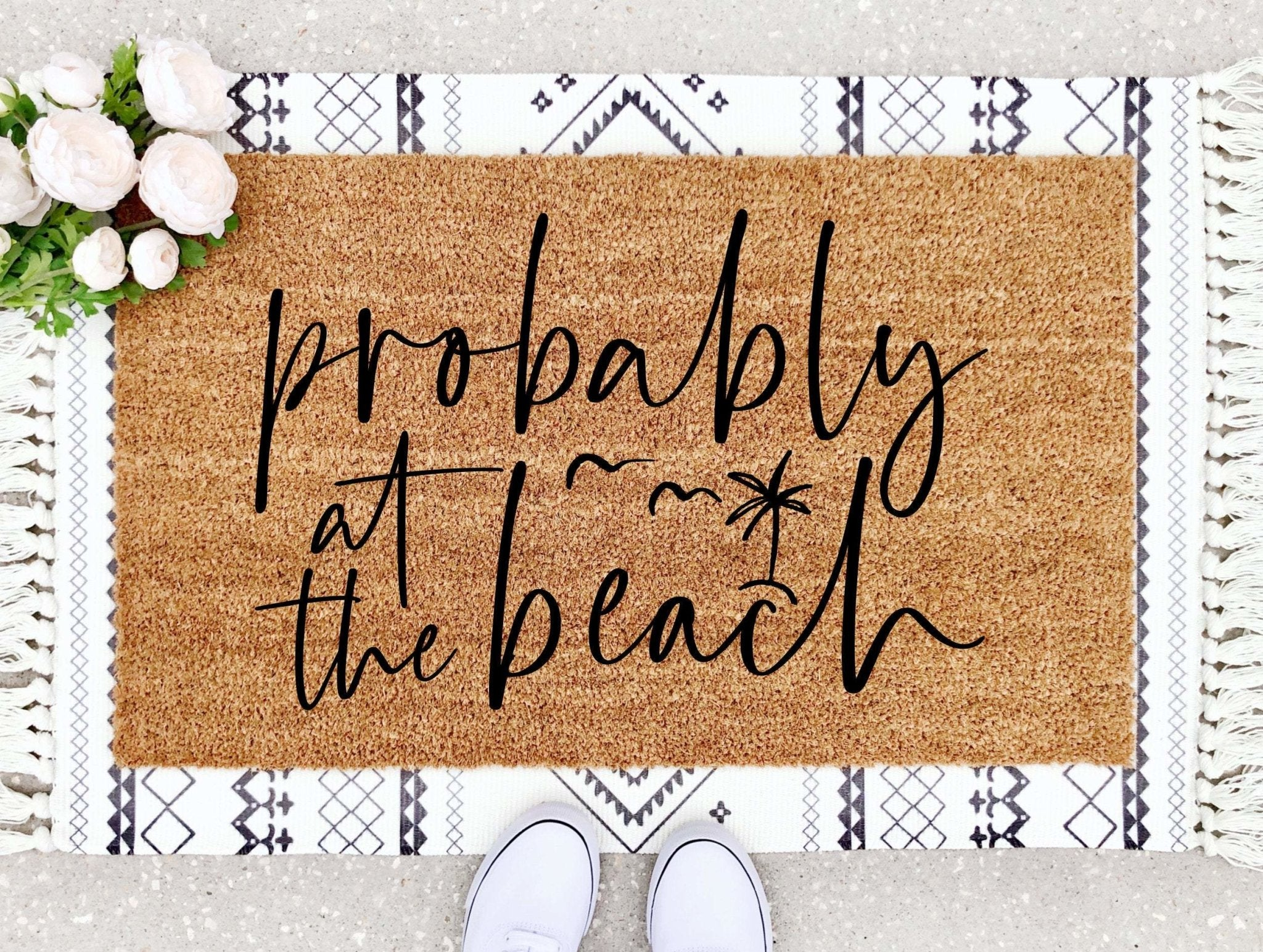 Probably At The Beach Doormat