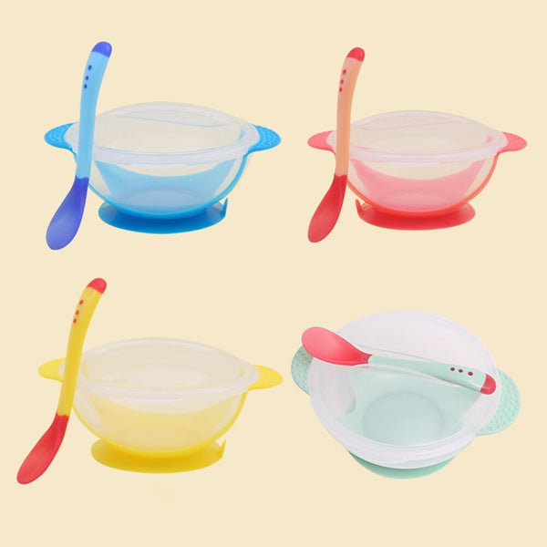 Baby Dish With Suction Cup