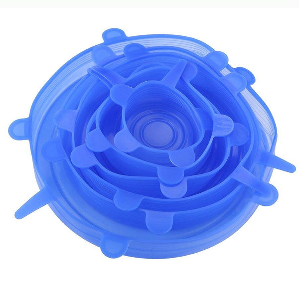 Reusable Silicone Vacuum Sealed Lids